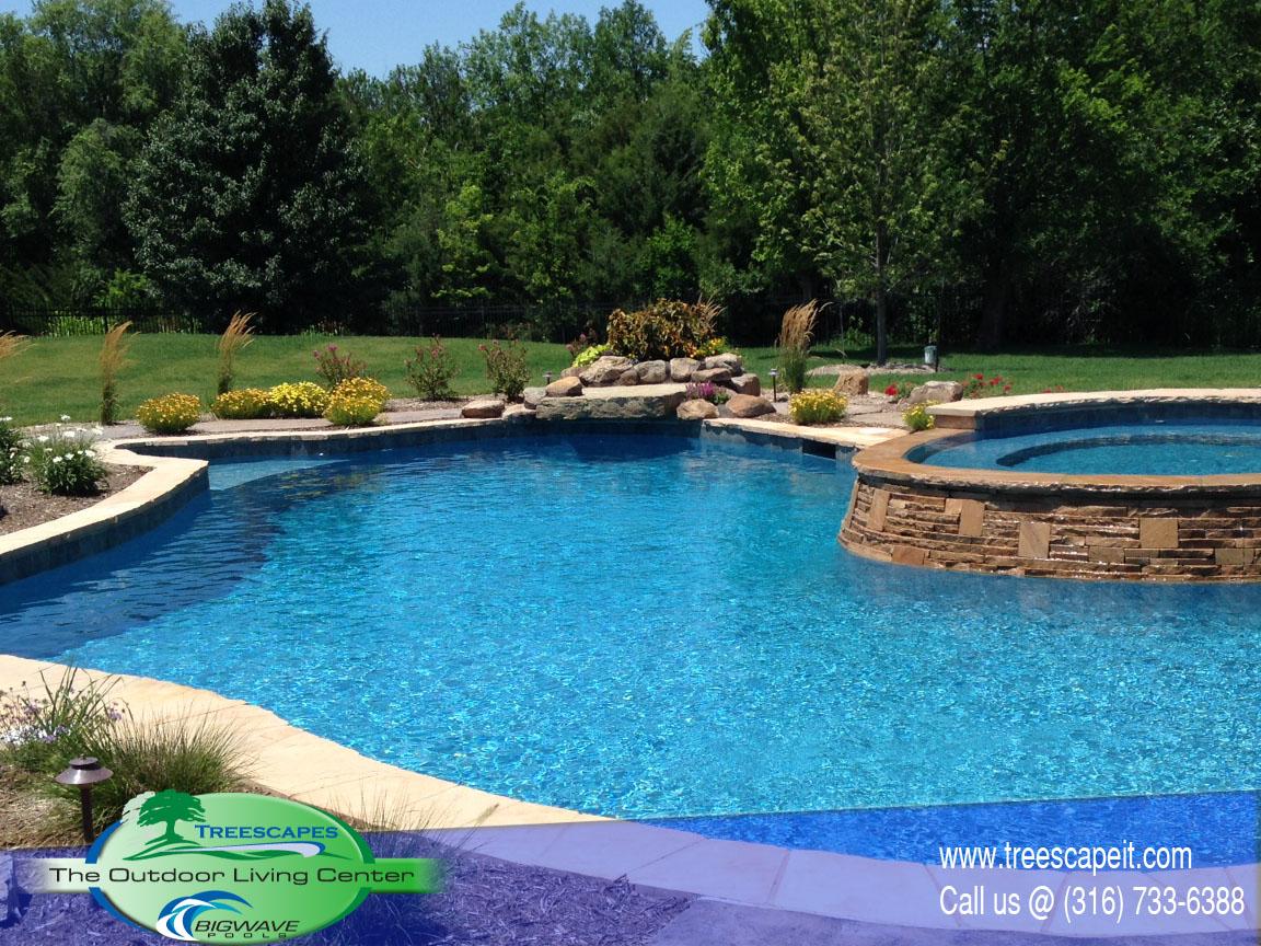 Gunite Pools Pools Wichita Ks Treescapes