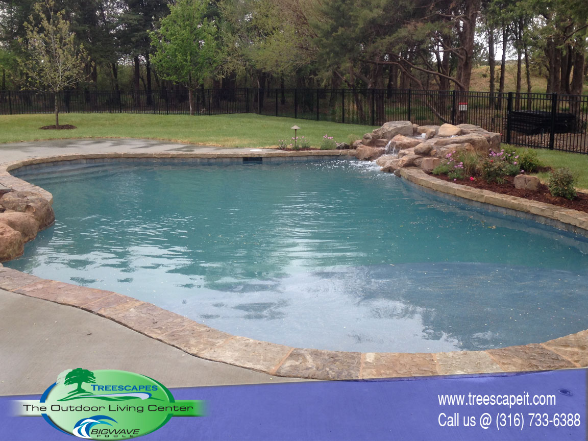 Custom Gunite Pool