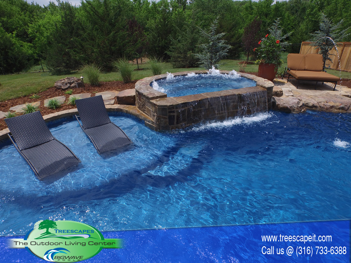 Gunite Pools Pools Wichita Ks Treescapes