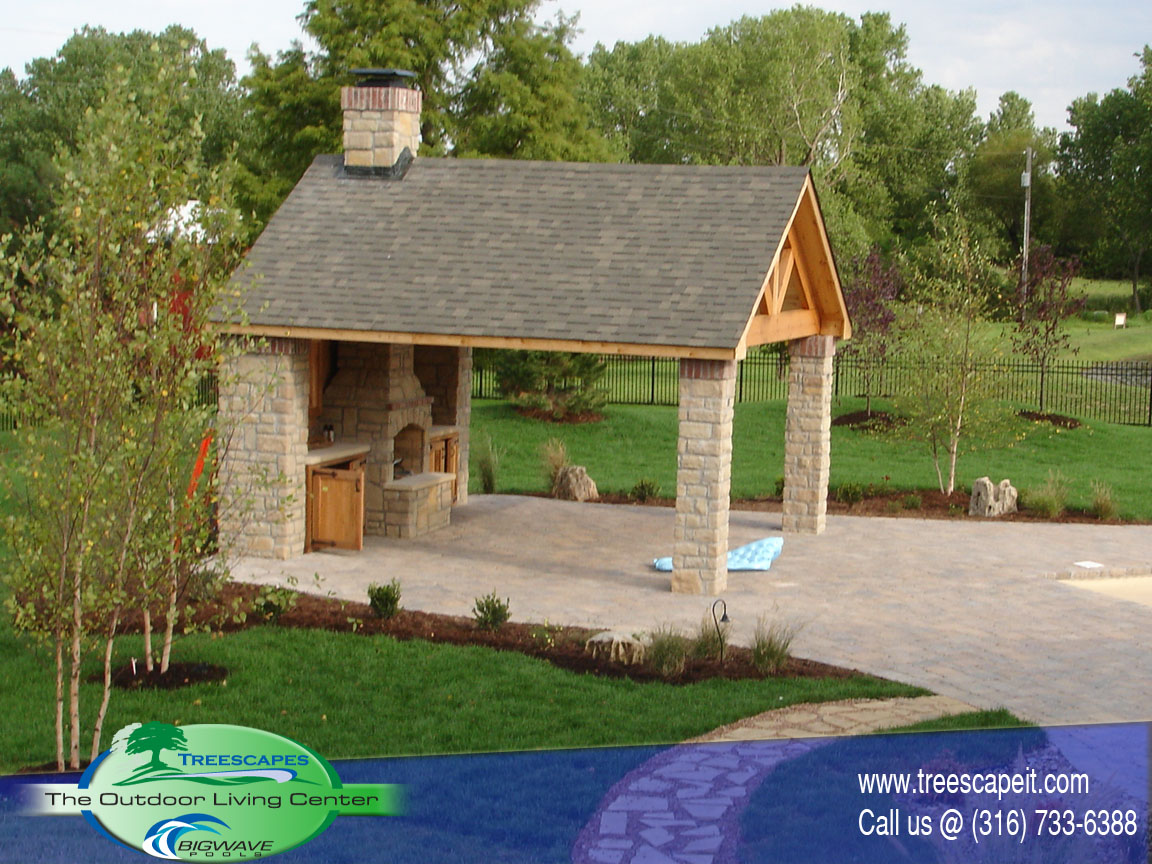 greenfield outdoor kitchen - Outdoor House Pools