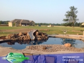 Custom Gunite Pool with Slide