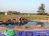 Custom Gunite Pool with Slide