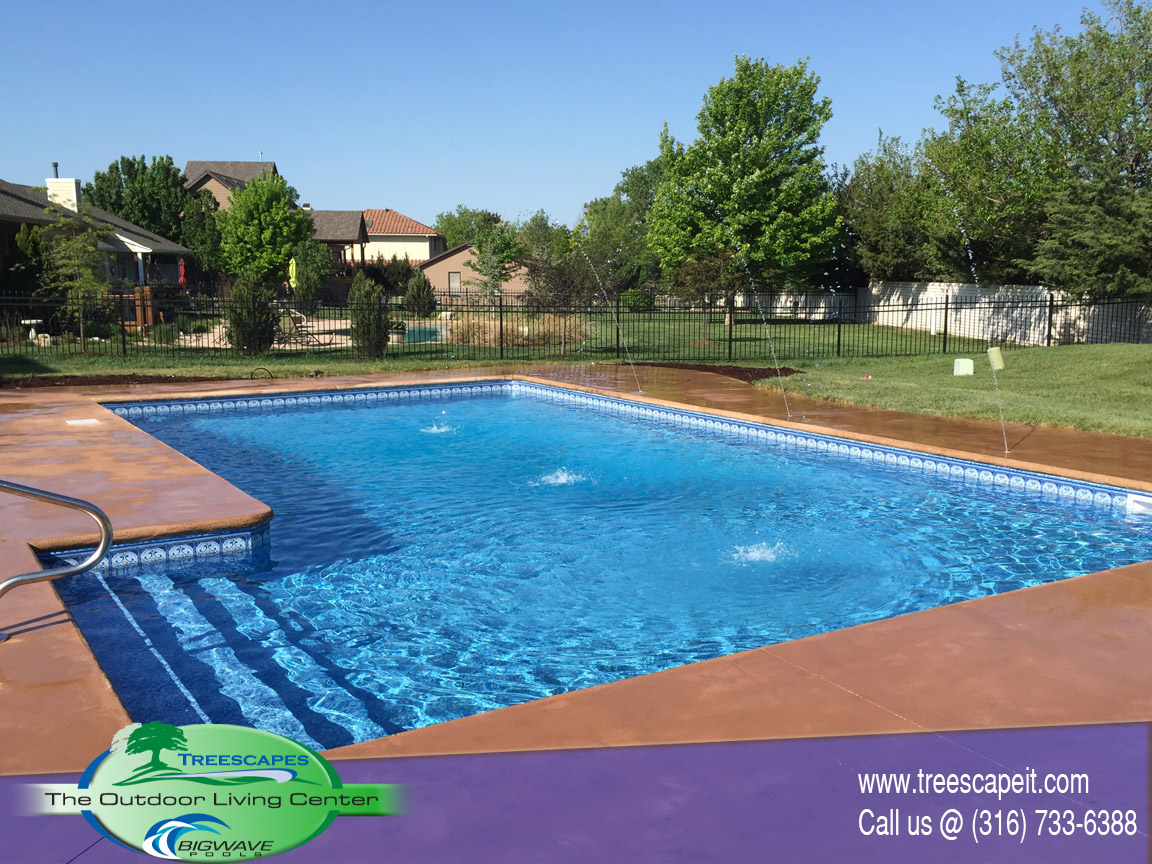 Vinyl Liner Pools Wichita Ks Treescapes