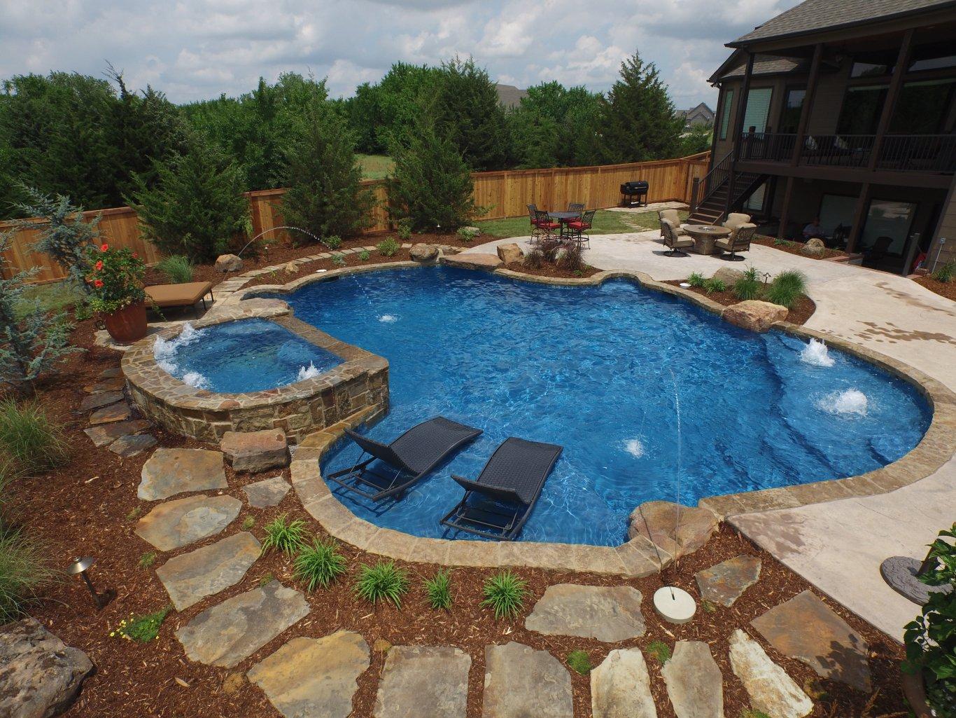 Outdoor Kitchens | Pools | Wichita, KS. | Treescapes