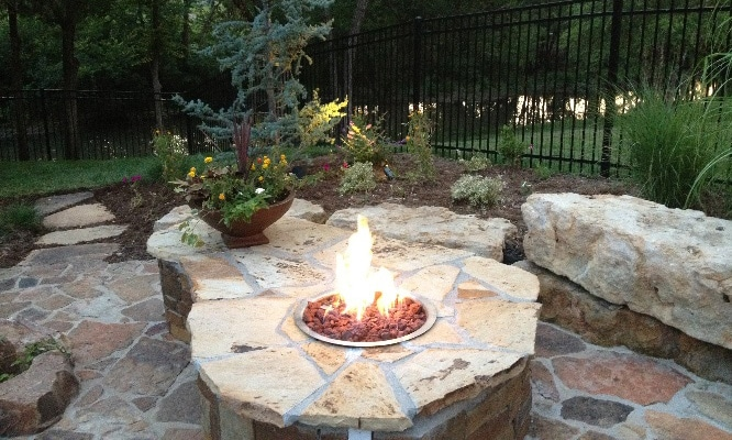 fire features - Fire Features for Every Backyard