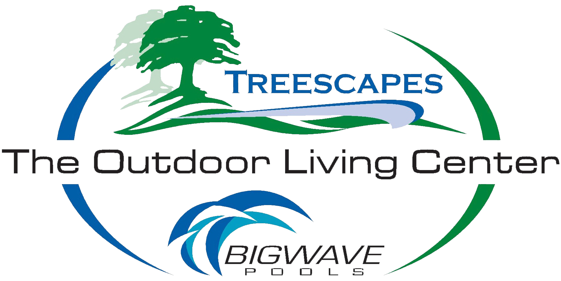 Treescapes : The Outdoor Living Center